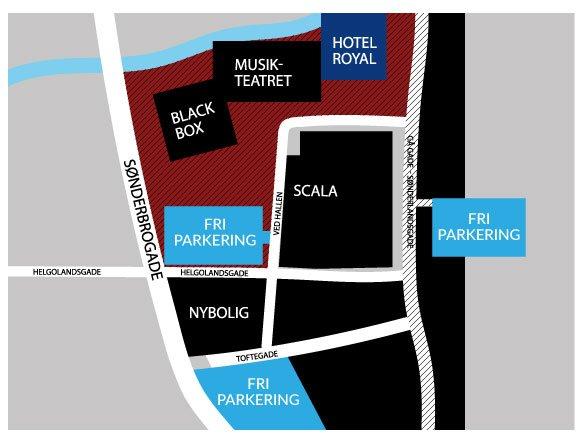 hotel royal parkeringskort